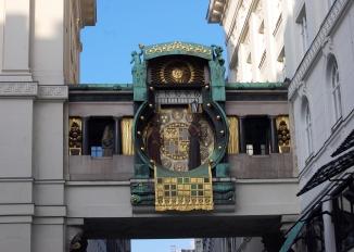 Horloge Anker à Hoher Markt - Vienne